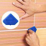 2 Pièces Ensemble d'Outils de Calfeutrage en Silicone Outil de Finition du Joint d'Étanchéité pour Joint d'Étanchéité pour Plancher de Salle de Bains, Bleu de la marque Outus image 1 produit