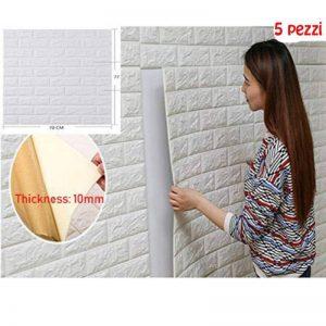 5pcs 77X70cm 3D Stickers Muraux 3d Brique,Papier Peint 3d Brique, Style simple, sécurité et protection de l'environnement Stickers muraux Stereo de la marque BoGuang image 0 produit