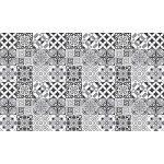 60 Stickers adhésifs carrelages   Sticker Autocollant Carrelage - Mosaïque carrelage mural salle de bain et cuisine   Carrelage adhésif - nuance de gris élégants - 10 x 10 cm - 60 pièces de la marque Ambiance-Live image 2 produit