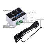 AC110–240V Digital LED contrôleur de température Thermostat Switchwith testeur de température commutateur de commande Mode de chauffage et de refroidissement avec sonde étanche de la marque Beimaji Trade image 1 produit