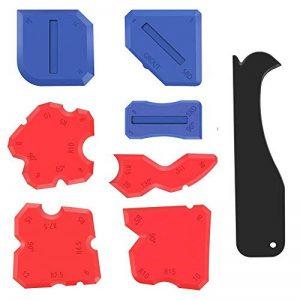 Alcoon 8 Pièces Lisseurs de Joints Outils d'étanchéité Kit de Scellage du dégraissant en Silicone de Calfeutrage Outil Pour la Salle de Bain Cuisine et Joints d'étanchéité à Cadres de la marque Alcoon image 0 produit