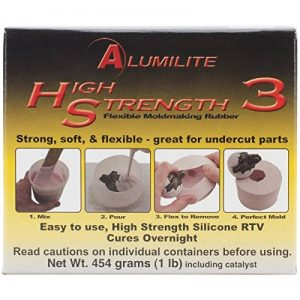 Amazing de Moulage de Produits alumilite Liquide Haute Force 3Moule en Caoutchouc de 1LB-Pink de la marque Amazing Casting Products image 0 produit