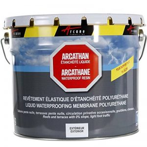 ARCATHAN - Etanchéité toiture plate terrasse toit plat membrane résine polyuréthane - blanc, 4 kg de la marque ARCANE INDUSTRIES image 0 produit