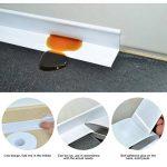 Bande d'étanchéité en PVC par Etbotu, auto-adhésive, étanche et anti-moisissure, pour la salle de bain, la baignoire, la cuisine, beige, 3.8cm * 320cm de la marque Etbotu image 4 produit