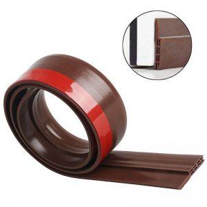 Bas de Porte Adhésif 100cm x5cm Joint phonique inférieur pour joint de fenêtre Bloquant chaud et froid - Moredig, brun de la marque Moredig image 0 produit