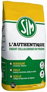 BEMR BMSIM05 Enduit Sim l'Authentique en 5 kg, Blanc de la marque BEMR image 0 produit
