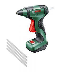Bosch Pistolet à colle sans fil PKP 3,6 LI avec 4 bâtonnets de colle et chargeur micro-USB 0603264600 de la marque Bosch image 0 produit