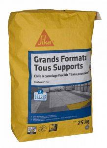 Colle à carrelage spécial carrelage grand format (C2S1TE) - SikaCeram Flex - Gris - 25kg de la marque SIKA FRANCE S.A.S image 0 produit