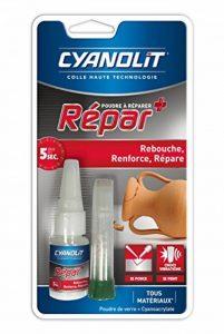 CYANOLIT 33300047 Repar Poudre À Réparer Colle, Transparent, 18 G + 2 G de la marque Cyanolit image 0 produit