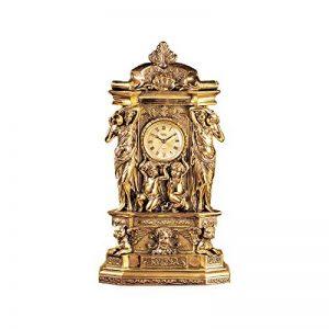 Design Toscano Château de Chambord Horloge de Tablette de Cheminée Décor Classique, 51 cm, polyrésine, or de la marque Design Toscano image 0 produit