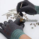 DEX FIT Gants de travail nitrile légers FN330, Comfort 3D Stretchy Fit, Power Grip, Smart Touch, Revêtement en mousse durable, Lavable à la machine, Gris Noir X-Grand 3 Paires de la marque DEX FIT image 4 produit