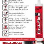 Fix-A-Floor Colle à carrelage extra forte en tube 300ml de la marque Fix-A-Floor image 1 produit