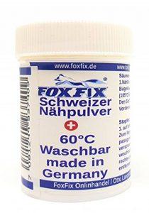 FoxFix Suisse de Couture en Poudre de Fer à Repasser Colle Textile à Coudre sans Aiguille ni Fil de la marque FoxFix image 0 produit