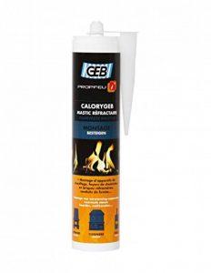 GEB 103554 Calorygeb Mastic réfractaire Cartouche de 310 ml Noir de la marque GEB image 0 produit