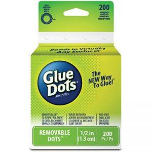 Glue Dots Rouleau de pastilles adhésives amovibles Clair de la marque Glue Dots image 0 produit