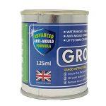 Groutin Grout Reviver, blanc, produit qui restaure et rajeunit les vieux joints.Anti-bactérien et anti-fongique 125 ml. de la marque Groutin image 3 produit