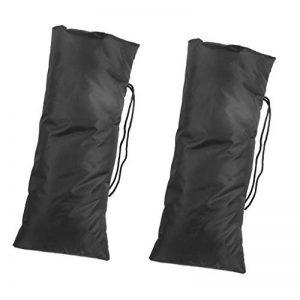 Homyl Paire De Chaussettes De Robinet 50x21cm Noir de la marque Homyl image 0 produit