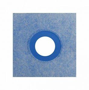 Isolation P3, manchettes murales – 250 mm x 250 mm, joint d'étanchéité de douche, joint d'étanchéité de salle de bain, élément de douche, salle de bain – 15 pièces. de la marque Isolbau image 0 produit