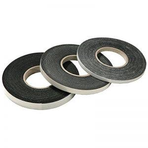 Joint d'étanchéité en bande comprimée de 12,5 m - Expansion de 10 / 2 - Largeur : 10 mm - Extensible de 2 à 5 mm - Coloris : anthracite de la marque FD-Workstuff image 0 produit