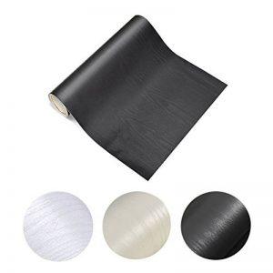 KINLO Papier Adhésif pour Meuble Armoire, Papier Peint Autocollant pour Placard,Tiroir, Sticker Bois pour Porte Tableau Noir-60 * 500cm de la marque KINLO image 0 produit