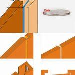 Lvguang Joint en D-Profile Adhésif pour Isolation Thermique de Portes et Fenetres Imperméable Marron 9 * 6mm de la marque Lvguang image 3 produit