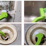 Omaloo de salle de bain et cuisine Brosse de nettoyage Brosse Joint carrelage Ensemble de brosse à brosse pour nettoyage en profondeur dans les sols de salle de bain et maison de cuisine (3pinceaux inclus) de la marque OMALOO image 2 produit
