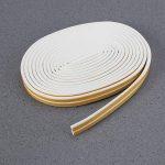 OUNONA 2Lot DE 10Metres étiquette d'étanchéité en Mousse de calfeutrage Portes et Fenêtres Bande d'étanchéité Bande Isolation sonore (Blanc) de la marque OUNONA image 1 produit