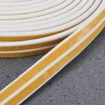 OUNONA 2Lot DE 10Metres étiquette d'étanchéité en Mousse de calfeutrage Portes et Fenêtres Bande d'étanchéité Bande Isolation sonore (Blanc) de la marque OUNONA image 2 produit