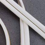 OUNONA 2Lot DE 10Metres étiquette d'étanchéité en Mousse de calfeutrage Portes et Fenêtres Bande d'étanchéité Bande Isolation sonore (Blanc) de la marque OUNONA image 4 produit