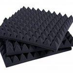 Panneaux insonorisants Pyramidal Correction Acoustique 50x50x6 D30 Noir Anthracite Paquet De 20 de la marque KeyHelm image 4 produit
