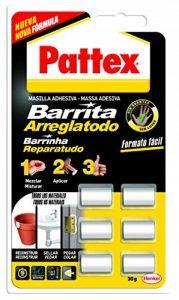 Pattex 1863218 Lot de 6 tubes de pâte à réparer (tube de 5g) de la marque Pattex image 0 produit