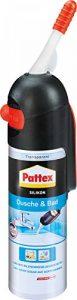 Pattex 1922267 Douche & Bain Silicone Distributeur, Transparent de la marque Pattex image 0 produit