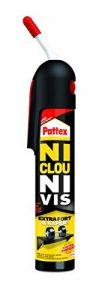 Pattex Colle de fixation sans pistolet Ni clou ni vis - Extra forte et rapide - Blanche et sans solvant - 1 x 250 g de la marque Pattex image 0 produit