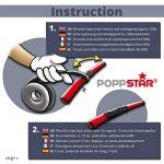 Poppstar 10088641x 11m auto-soudable bande silicone, bande en silicone Tape Ruban de réparation Ruban adhésif isolant et joint (Eau, Air), noir, largeur 25mm de la marque Poppstar image 4 produit
