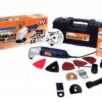 RENOVATOR L'outil multi-fonction avec coffret de 15 accessoires - Vu à la Télé de la marque Renovator image 3 produit