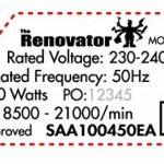 RENOVATOR L'outil multi-fonction avec coffret de 15 accessoires - Vu à la Télé de la marque Renovator image 4 produit