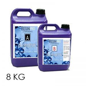 Résine Epoxy Transparente / KG 8 - Effet Eau! de la marque Resin Pro image 0 produit