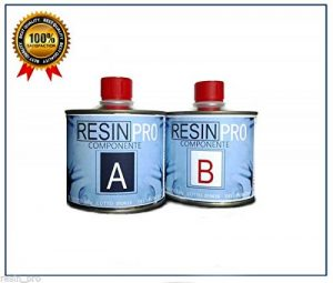 Résine époxy Ultra transparente GR 320 bi-composant à B-SUPER Transparent effet eau pour création de bijoux en résine Transparent-résine pour créations Moules-BESTSELLER de RESIN PRO de la marque Resin Pro image 0 produit