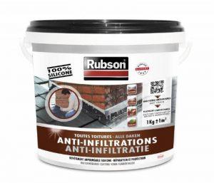 RUBSON 1384556 Stop Fuites Toutes Toitures (plates et inclinées) Noir 1kg de la marque Rubson image 0 produit