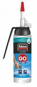 Rubson 2255260 GO Je jointe Mastic Silicone en aérosol, Transparent, 100 ML de la marque Rubson image 0 produit