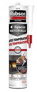 Rubson Mastic Hautes Températures 280 ml Noir de la marque Rubson image 0 produit
