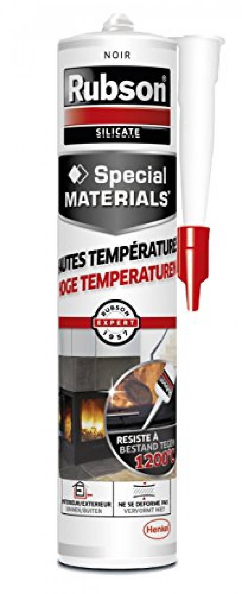 R/ésistante aux Temp/ératures jusqu/à 550/°C. STEIGNER Corde d/Étanch/éit/é en Fibre de Verre SKD02-10 Gris Fonc/é avec Adh/ésif de Montage Thermique 10 mm 5 m