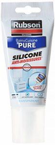 Rubson Mastic Sanitaires Bain et Cuisine Tube 150 ml Translucide de la marque Rubson image 0 produit