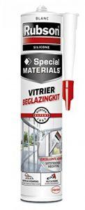 Rubson Mastic Vitrier Silicone Blanc 280 ml de la marque Rubson image 0 produit