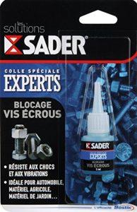 Sader Colle blocage vis écrou Flacon 5 ml de la marque Sader image 0 produit