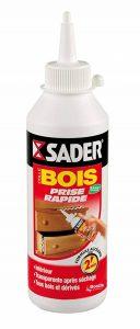 Sader Colle à bois rapide, Transparent - Biberon de 250G de la marque Sader image 0 produit