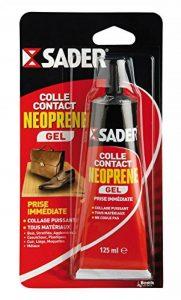 Sader Colle Contact néoprène gel, Tube 125 ml de la marque Sader image 0 produit