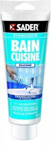 Sader Mastic pour Bain/Cuisine Translucide - Tube de 200ml de la marque Sader image 0 produit