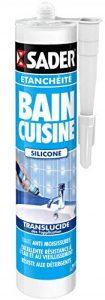 Sader Mastic pour joints bain/cuisine Translucide Cartouche 310 ml de la marque Sader image 0 produit