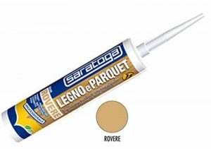 Saratoga Mastic silicone acrylique pour bois et parquet, couleur chêne 310 ml de la marque Saratoga image 0 produit
